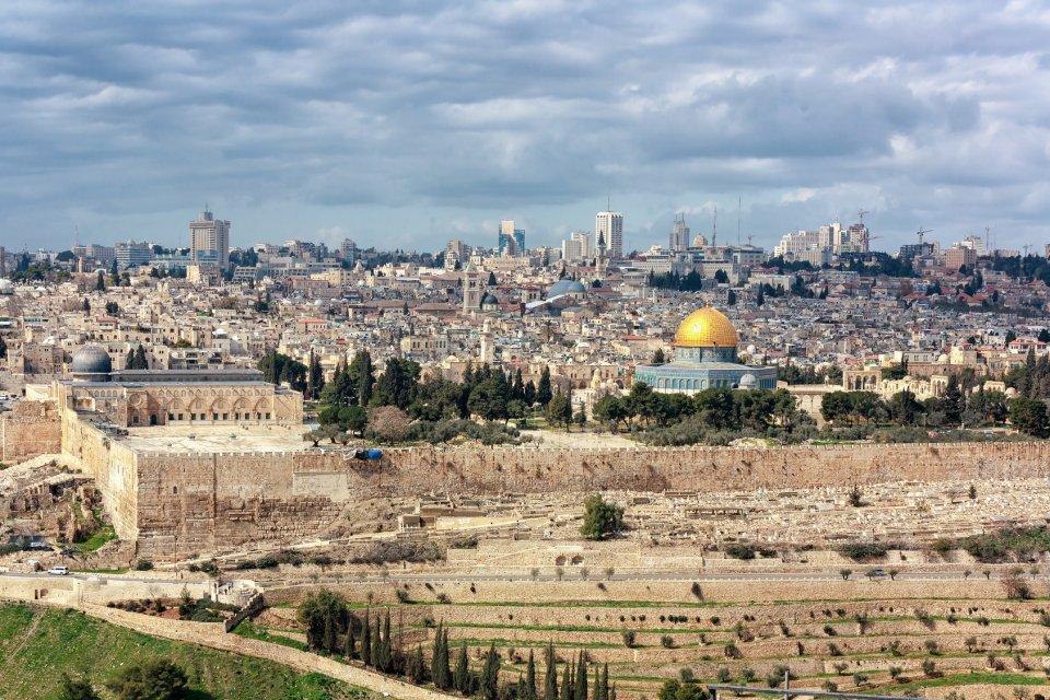 Jeruzalém z Olivetské hory